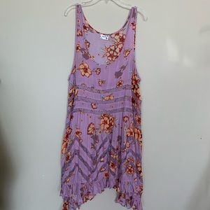 Intimately Free People Floral Lace Slip Dress L